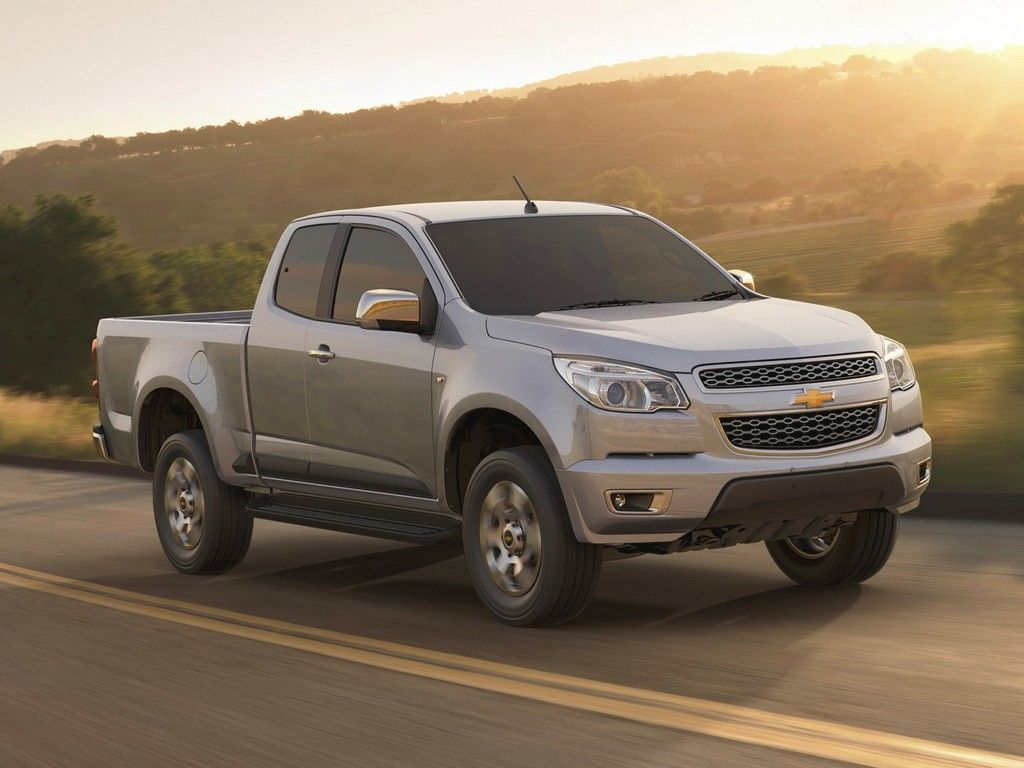 Chevrolet Colorado из сша
